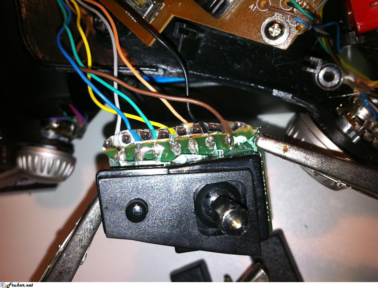 Saitek X45 Mouse Hat  Slew  Repair